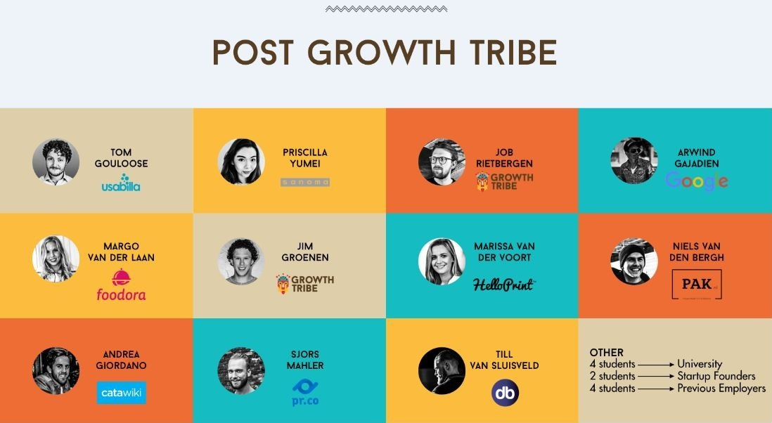 Marketing Degree Post Growth Tribe Success Stories